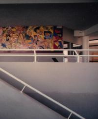 1984 Collège Jean Wiener Marnes La Vallée Anne-Marie Pécheur Artiste Peinture et Lumière stmedart-04