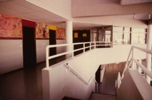 1984 Collège Jean Wiener Marnes La Vallée Anne-Marie Pécheur Artiste Peinture et Lumière stmedart-05