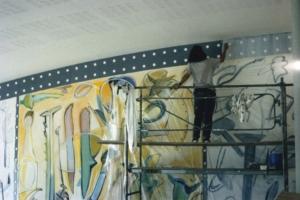 1996 Sous-préfecture de Bayonne Anne-Marie Pécheur Artiste Peinture et Lumière 1