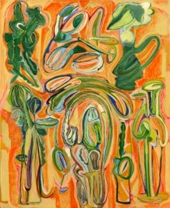 Anne-Marie Pécheur Artiste Peinture et Lumière PE-0101