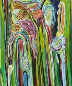 Anne-Marie Pécheur Artiste Peinture et lumière PE-0112