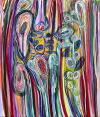 Anne-Marie Pécheur Artiste Peinture et lumière PE-0113