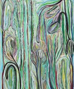 Anne-Marie Pécheur Artiste Peinture et lumière PE-0114