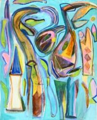 Anne-Marie Pécheur Artiste Peinture et Lumière PE-0187