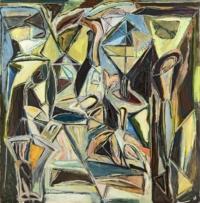 Anne-Marie Pécheur Artiste Peinture et lumière PE-0008