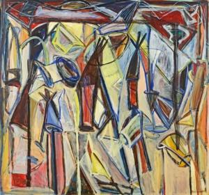 Anne-Marie Pécheur Artiste Peinture et lumière PE-0010