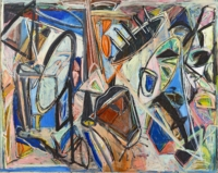 Anne-Marie Pécheur Artiste Peinture et lumière PE-0011