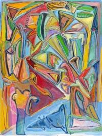 Anne-Marie Pécheur Artiste Peinture et lumière PE-0014