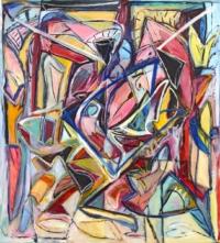 Anne-Marie Pécheur Artiste Peinture et lumière PE-0015