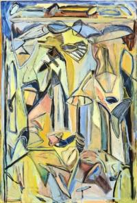 Anne-Marie Pécheur Artiste Peinture et lumière PE-0031
