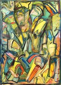 Anne-Marie Pécheur Artiste Peinture et lumière PE-0049