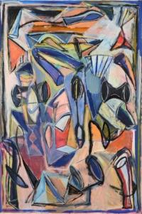 Anne-Marie Pécheur Artiste Peinture et lumière PE-0054