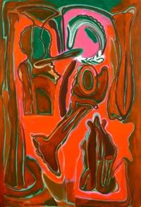 Anne-Marie Pécheur Artiste Peinture et Lumière PE-0059