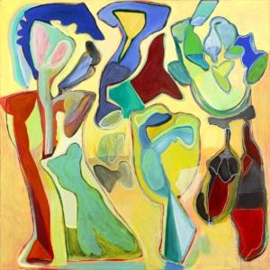 Anne-Marie Pécheur Artiste Peinture et Lumière PE-0085
