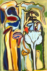 Anne-Marie Pécheur Artiste Peinture et Lumière PE-0087