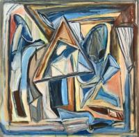 Anne-Marie Pécheur Artiste Peinture et lumière PE-0124