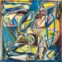 Anne-Marie Pécheur Artiste Peinture et lumière PE-0126