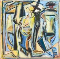 Anne-Marie Pécheur Artiste Peinture et lumière PE-0130