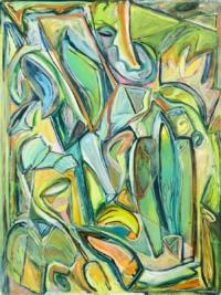 Anne-Marie Pécheur Artiste Peinture et lumière PE-0142