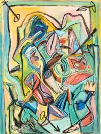 Anne-Marie Pécheur Artiste Peinture et lumière PE-0143
