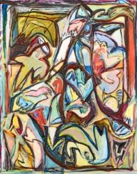 Anne-Marie Pécheur Artiste Peinture et lumière PE-0144