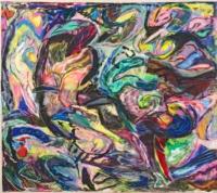 Anne-Marie Pécheur Artiste Peinture et Lumière PE-0146