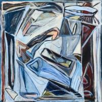Anne-Marie Pécheur Artiste Peinture et lumière PE-0148