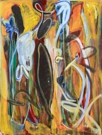 Anne-Marie Pécheur Artiste Peinture et Lumière PE-0155