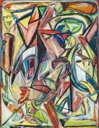 Anne-Marie Pécheur Artiste Peinture et lumière Artiste Peinture et lumiere PE-0158