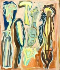 Anne-Marie Pécheur Artiste Peinture et Lumière PE-0173