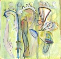 Anne-Marie Pécheur Artiste Peinture et Lumière PE-0183