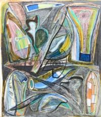 Anne-Marie Pécheur Artiste Peinture et Lumière PE-0188