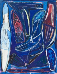 Anne-Marie Pécheur Artiste Peinture et Lumière PE-0189