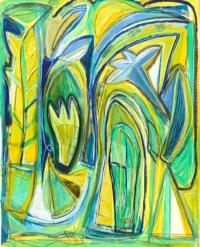 Anne-Marie Pécheur Artiste Peinture et Lumière PE-0191