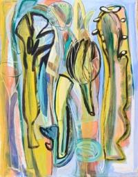 Anne-Marie Pécheur Artiste Peinture et Lumière PE-0192