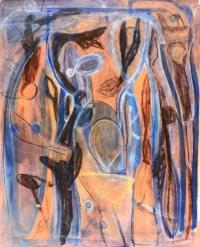 Anne-Marie Pécheur Artiste Peinture et Lumière PE-0195