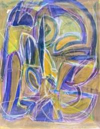 Anne-Marie Pécheur Artiste Peinture et Lumière PE-0196