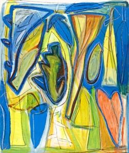 Anne-Marie Pécheur Artiste Peinture et Lumière PE-0198