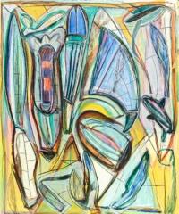Anne-Marie Pécheur Artiste Peinture et Lumière PE-0199