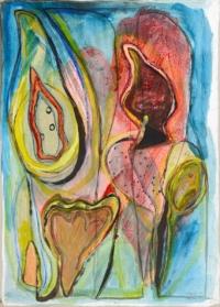 Anne-Marie Pécheur Artiste Peinture et Lumière PE-0209