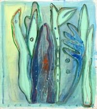 Anne-Marie Pécheur Artiste Peinture et Lumière PE-0220