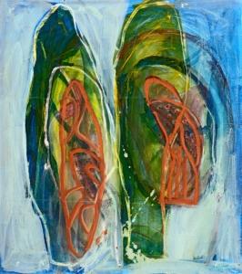 Anne-Marie Pécheur Artiste Peinture et Lumière PE-0227