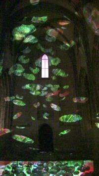 Avignon 2014 Anne-Marie Pécheur Artiste Peinture et Lumière miroirs celestins