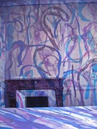 Violettes 2009 Anne-Marie Pécheur Artiste Peinture et Lumière 09violette