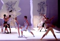 Yamm 2000 Anne-Marie Pécheur Artiste Peinture et lumière ballet-costumes