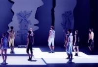 Yamm 2000 Anne-Marie Pécheur Artiste Peinture et lumière scene-costumes-ballet-