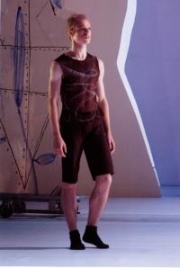 Yamm 2000 Anne-Marie Pécheur Artiste Peinture et lumière un-danseur