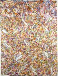 Anne-Marie Pécheur Artiste Peinture et Lumière Acryli 1981 collage