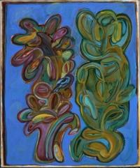Anne-Marie Pécheur Artiste Peinture et Lumière Bouturage Les Yeux 2005-511