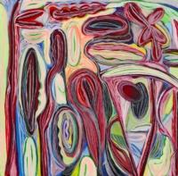 Anne-Marie Pécheur Artiste Peinture et Lumière Bouturage PE-0117